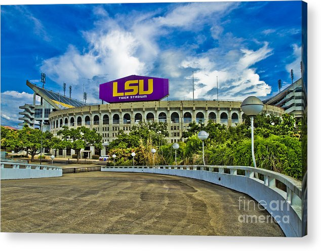 Lsu Acrylic Print featuring the photograph Death Valley by Scott Pellegrin
