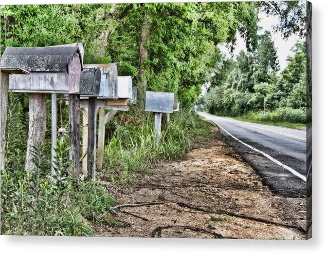 Mail Route Acrylic Print featuring the photograph Mail Route by Scott Pellegrin