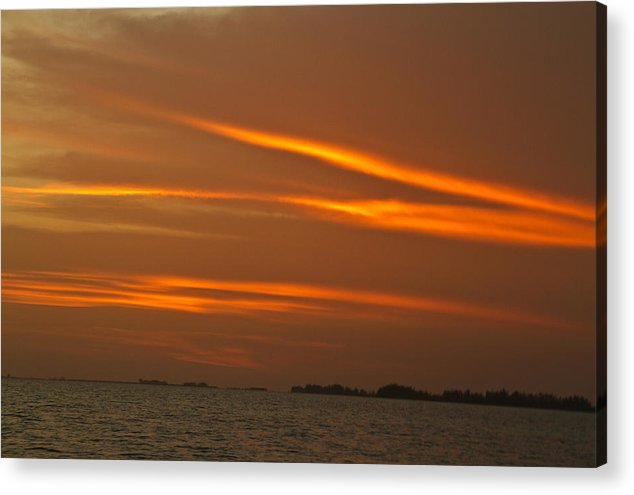 Sunset Acrylic Print featuring the photograph Z Of The Sun by Matthew Barton