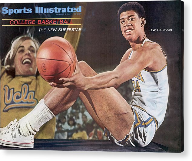 Magazine Cover Acrylic Print featuring the photograph University Of California Los Angeles Lew Alcindor Sports Illustrated Cover by Sports Illustrated