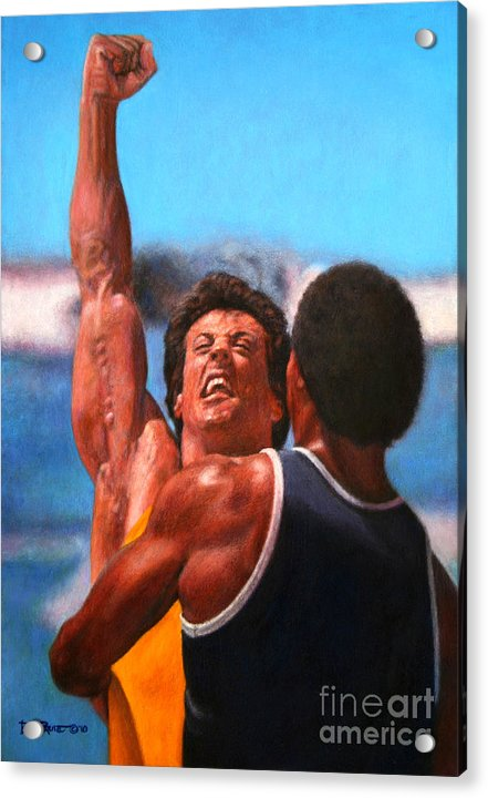 Rocky Apollo Training by Bill Pruitt