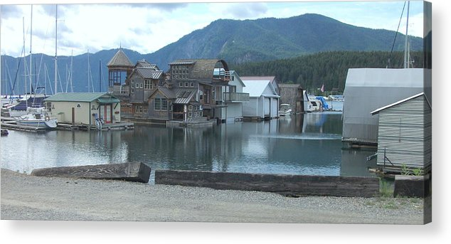 Bay View Acrylic Print featuring the photograph Bayview Idaho by Kenneth LePoidevin
