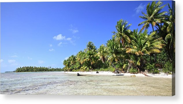 Tranquility Acrylic Print featuring the photograph Rangiroa - Isola Dei Coralli - Reef Isl by Loving And Living In This Planet