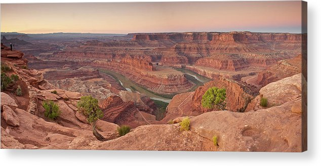 Scenics Acrylic Print featuring the photograph Dead Horse Point State Park, Utah by Enrique R. Aguirre Aves
