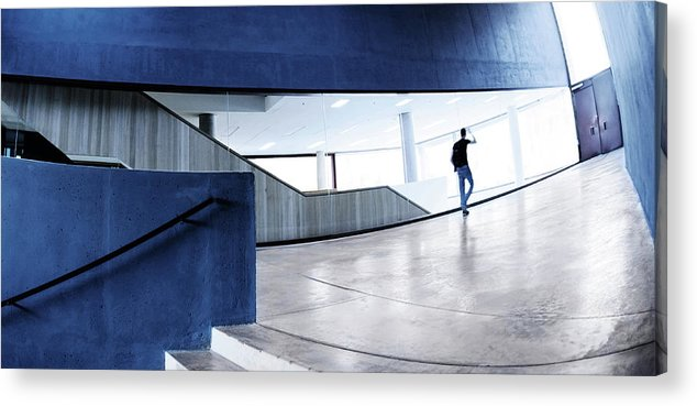 Pedestrian Acrylic Print featuring the photograph Modern Architecture by Nikada