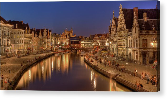 Tranquility Acrylic Print featuring the photograph Gent - 03101119 by Klaus Kehrls