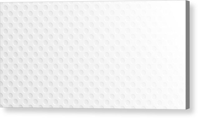 Shadow Acrylic Print featuring the drawing Abstract white background - Geometric texture by Bgblue