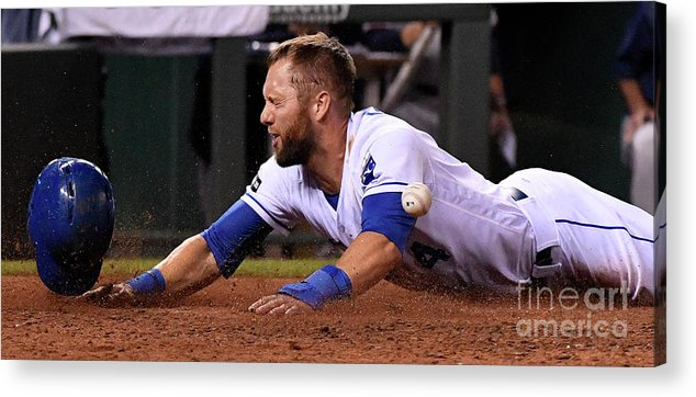 Three Quarter Length Acrylic Print featuring the photograph Alex Gordon by Ed Zurga