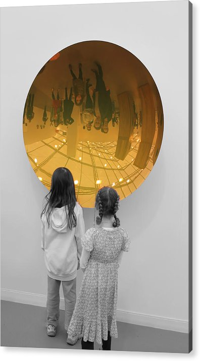 Girls Acrylic Print featuring the photograph Aliens by Nina Mirhabibi