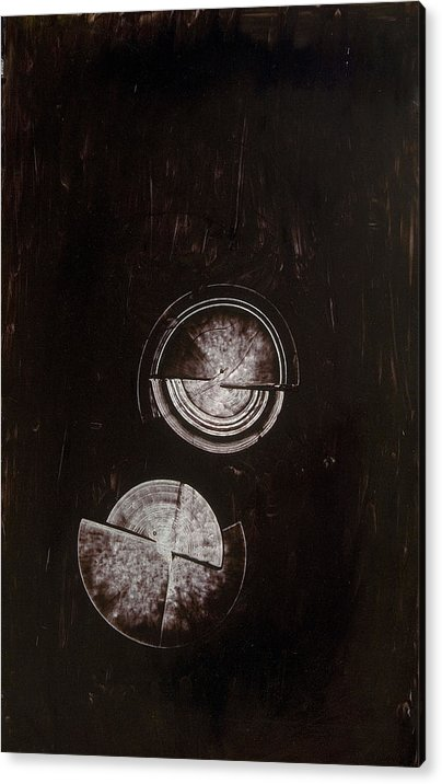 Abstract Expressionism Acrylic Print featuring the painting Untitled # 205 by Kongtrul Jigme Namgyel