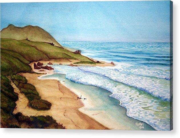 Rick Huotari Acrylic Print featuring the painting Pacific by Rick Huotari