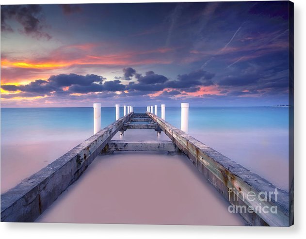 Beach Acrylic Print featuring the photograph Turquoise Paradise by Marco Crupi