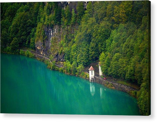 Lake Switzerland Acrylic Print featuring the photograph Switzerland - Lake by Geoff Evans