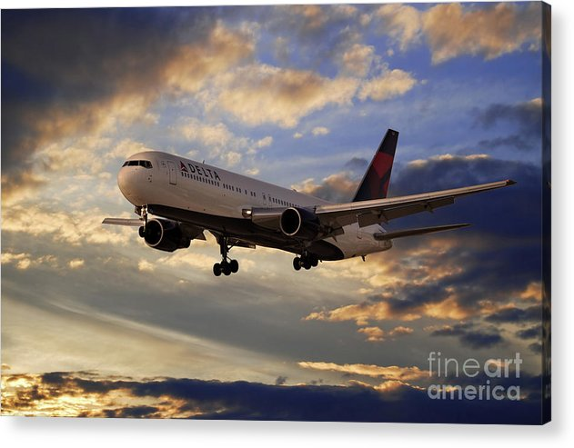Delta Airlines Boeing 767-300 by Airpower Art
