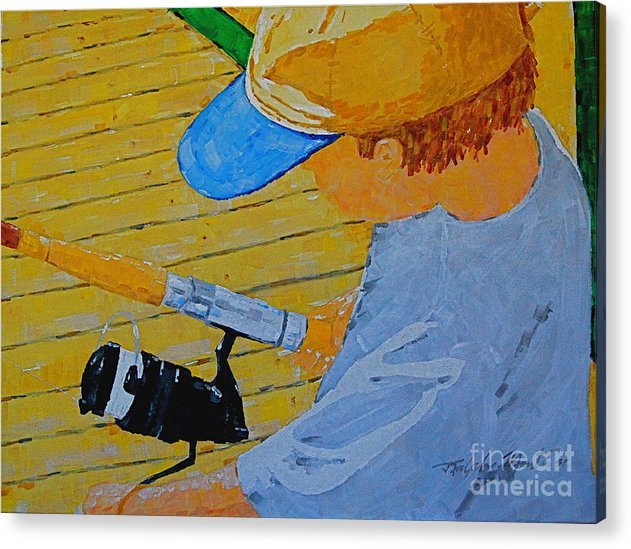 Children Acrylic Print featuring the painting Great Tradition by Art Mantia