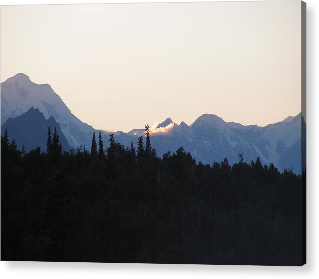 Landscape Acrylic Print featuring the photograph Danali by Giles b Liddell