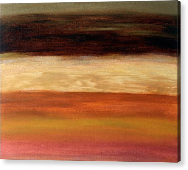 Fine Art Acrylic Print featuring the painting Nothing More To Prove by Shiree Gilmore