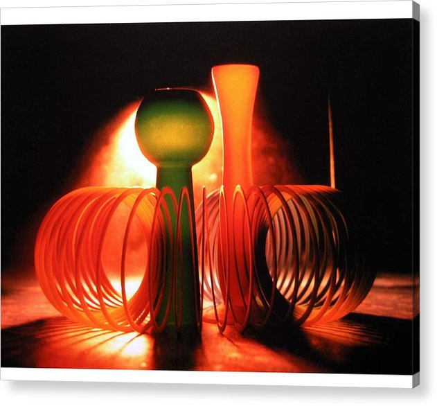 Vase Acrylic Print featuring the photograph Composition - 2 by Gautam Chatterjee
