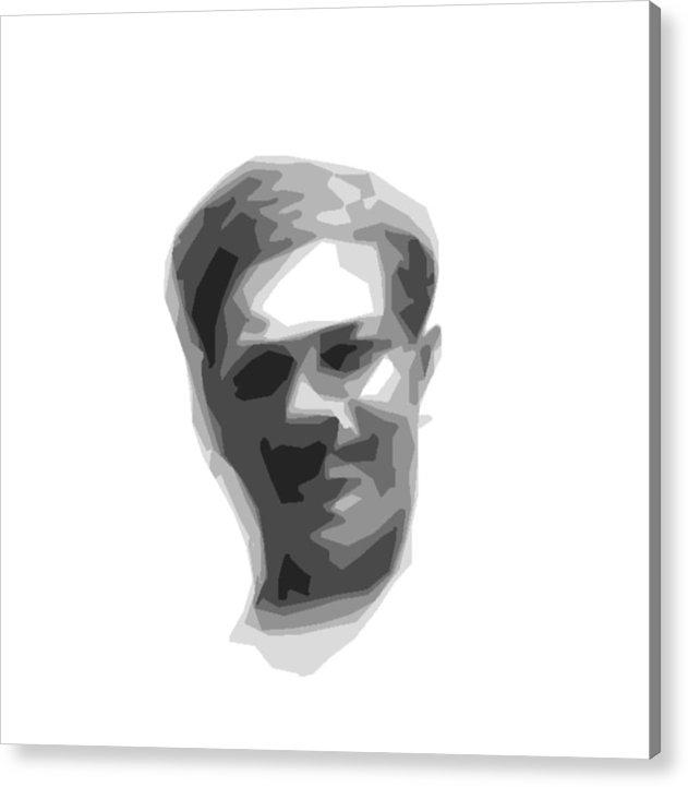 Digital Art Acrylic Print featuring the digital art Bill 1952 by Donald Burroughs