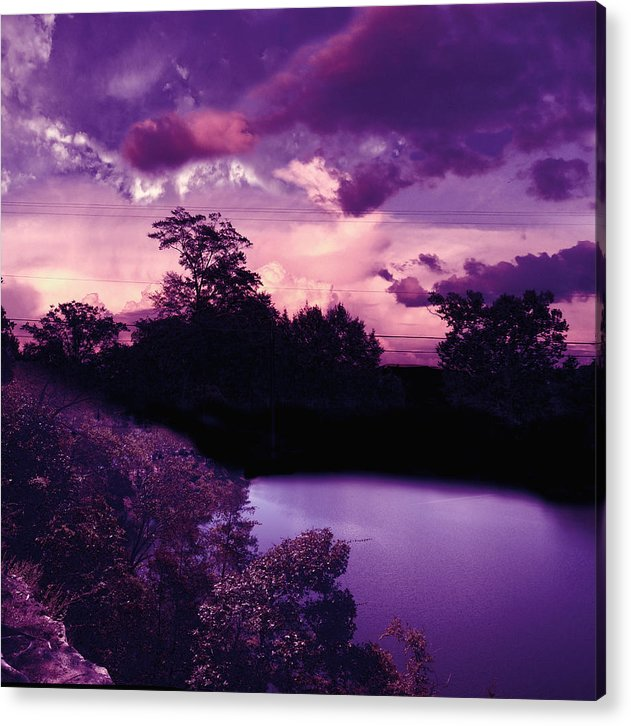 Ethereal Acrylic Print featuring the photograph Ethereal by Dustin Lake