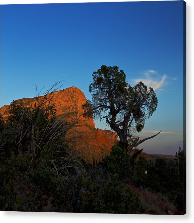 Sedona Acrylic Print featuring the photograph Sunset In Sedona by Eridon Photography