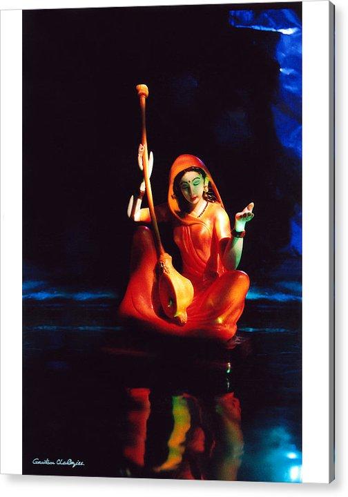 Meerabai Acrylic Print featuring the photograph Meerabai by Gautam Chatterjee