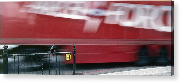 Delivery Acrylic Print featuring the photograph Parcel Force by Jan W Faul