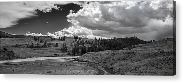 Sky Acrylic Print featuring the photograph Serene Valley by Jon Glaser