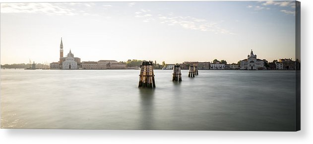 Venice Acrylic Print featuring the photograph Venice Sunrise 00365 by Marco Missiaja