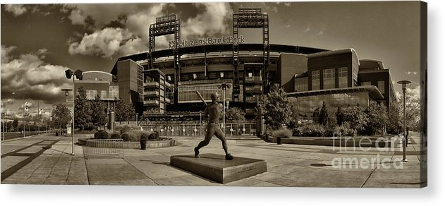 Citizens Park Acrylic Print featuring the photograph Citizens Park Panoramic by Jack Paolini