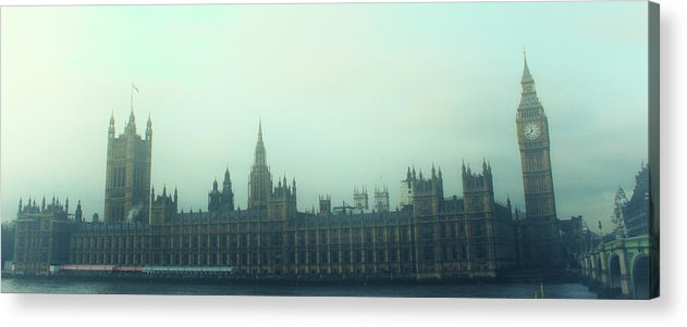 Fog Acrylic Print featuring the photograph Westminster Fog by Martin Newman