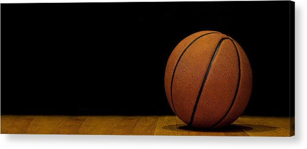 Basketball Acrylic Print featuring the photograph Basketball Panorama by Andrew Soundarajan