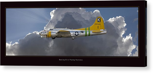 B-17 Flying Fortress Framed Prints Acrylic Print featuring the photograph Boeing B-17 by Larry McManus