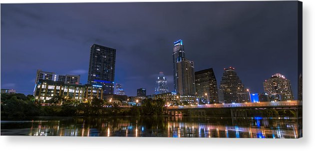 Austin Acrylic Print featuring the photograph Downtown Austin by David Morefield