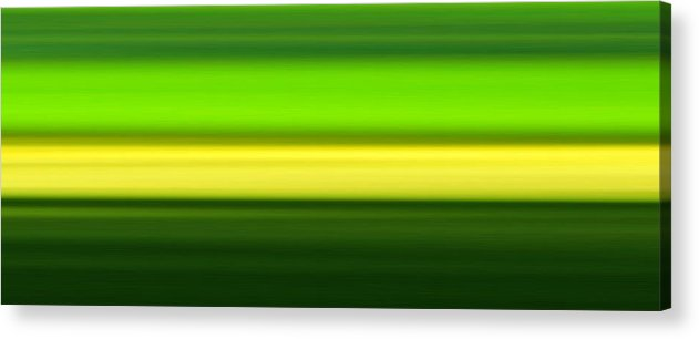 Print Acrylic Print featuring the digital art Sounds No. 14 by Bela Babel