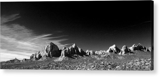 Sedona Acrylic Print featuring the photograph Capital Dome 3 by Randy Oberg