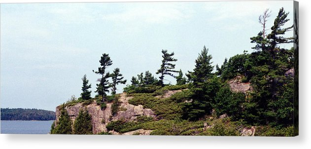 Landscape Acrylic Print featuring the photograph Small Island by Lyle Crump