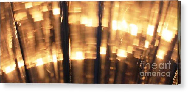 Light Acrylic Print featuring the photograph City Light by Sara Graham