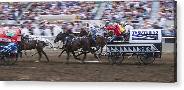 2014 Acrylic Print featuring the photograph Its All A Blur by Bill Cubitt