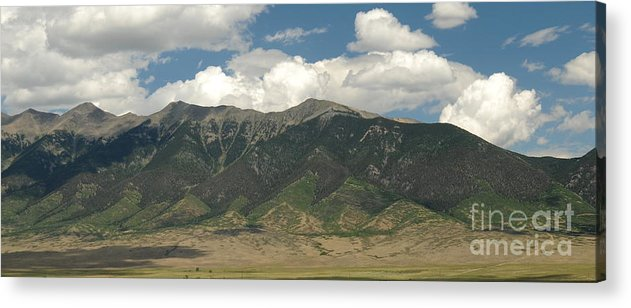 Rocky Mountains Acrylic Print featuring the photograph Rocky Mountains by Patrick Short