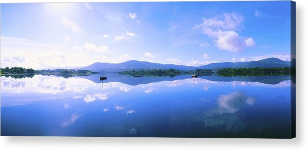 Boat Acrylic Print featuring the photograph Kenmare Bay, Dunkerron Islands, Co by The Irish Image Collection