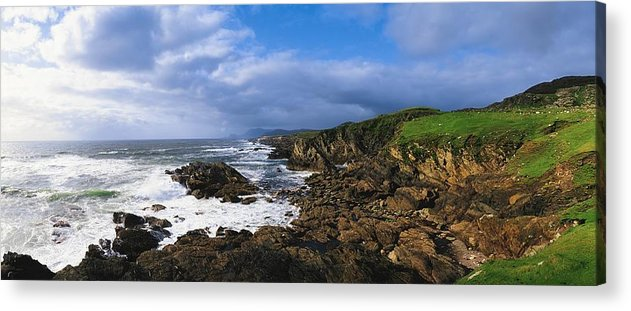Architectural Detail Acrylic Print featuring the photograph Achill Island, Atlantic Drive, Co Mayo by The Irish Image Collection