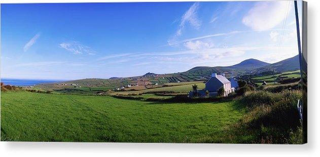 Village Acrylic Print featuring the photograph Co Kerry, Dingle Peninsula, Dunquin by The Irish Image Collection