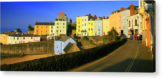Nature Acrylic Print featuring the photograph Tenby by Stevie Smudge