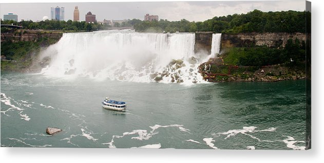 3scape Acrylic Print featuring the photograph American Falls by Adam Romanowicz