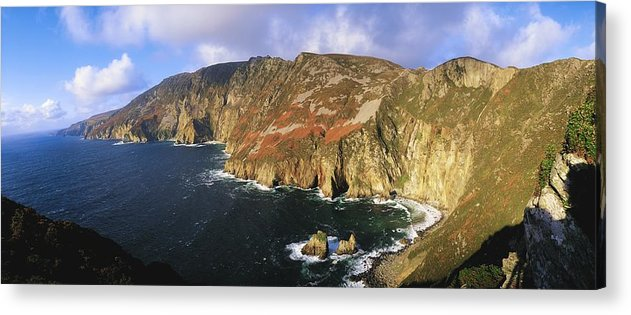 Co Donegal Acrylic Print featuring the photograph Slieve League, Co Donegal, Ireland by The Irish Image Collection