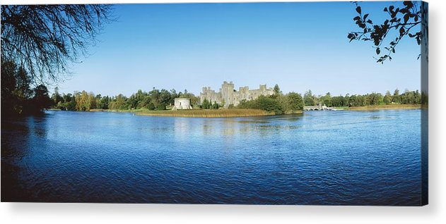 Archaeology Acrylic Print featuring the photograph Ashford Castle Hotel, Near Cong, Co by The Irish Image Collection