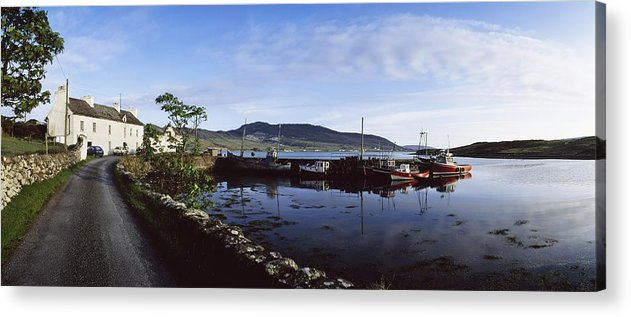 Blue Sky Acrylic Print featuring the photograph Co Mayo, Achill Sound by The Irish Image Collection