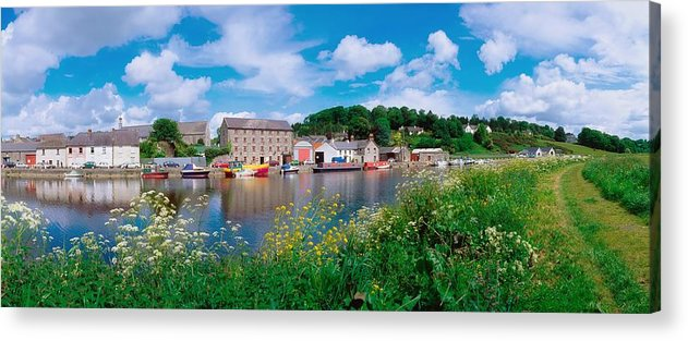 Building Acrylic Print featuring the photograph Graignamanagh, Co Kilkenny, Ireland by The Irish Image Collection