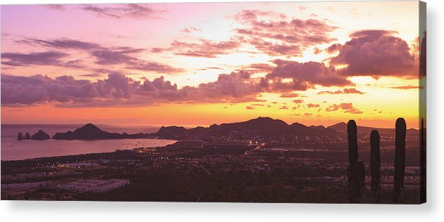 Baja California Acrylic Print featuring the photograph View Of Cabo San Lucas And Tip Of Baja by Stuart Westmorland